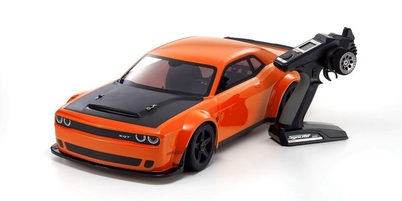 Inferno GT2 Dodge Challenger SRT 1:8 Nitro Readyset KE25SP