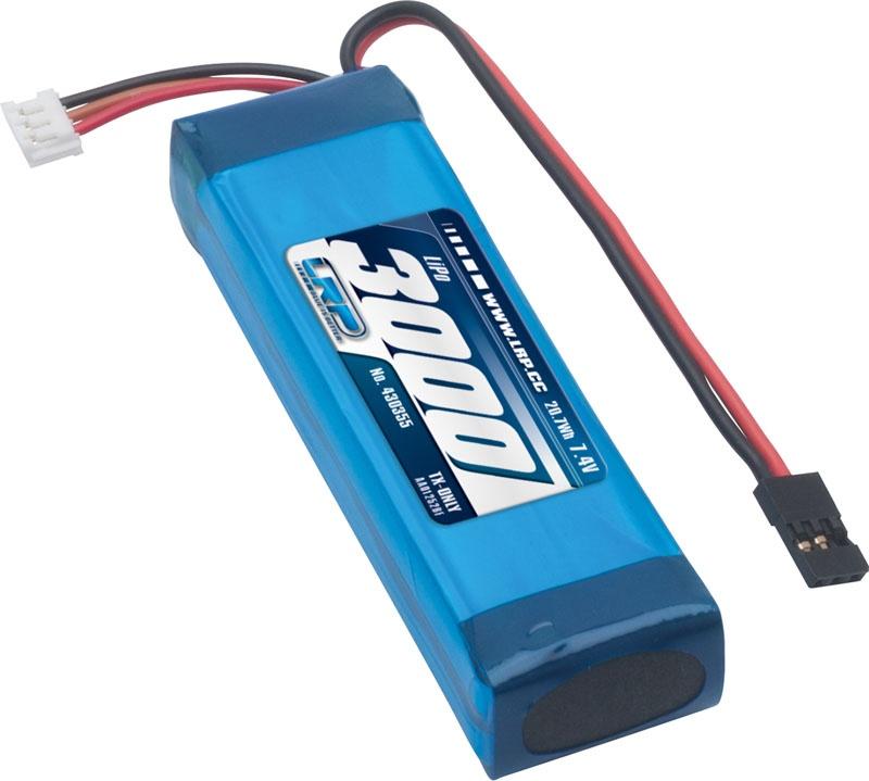 LiPo 3000 TX-Pack Sanwa M12/M12S/MT-4/MT-4S/MT-S/Exzes-Z