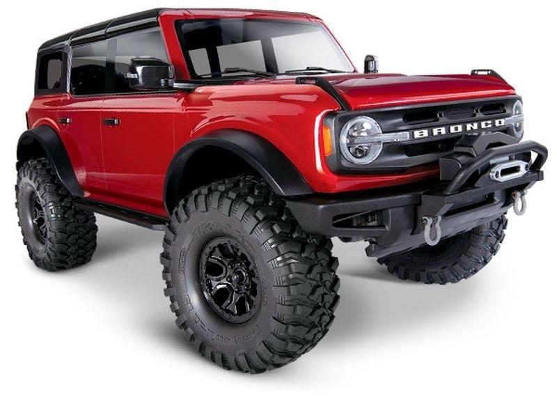 TRX-4 2021 Ford Bronco Crawler rot RTR 1:10
