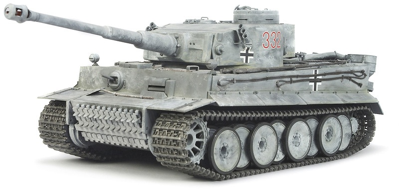 Panzer TIGER 1 Full Option Bausatz