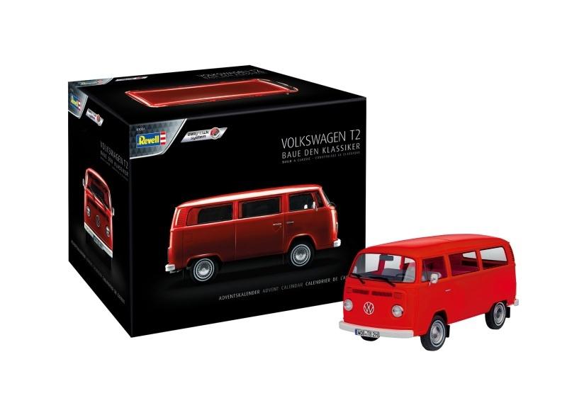 Adventskalender VW T2 Bus 1:24