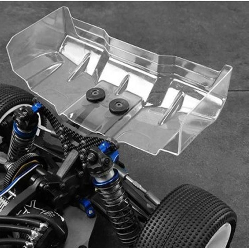 Vertigo Heckflügel 1mm (klar) für 1:10 Off-Road Modelle (2)