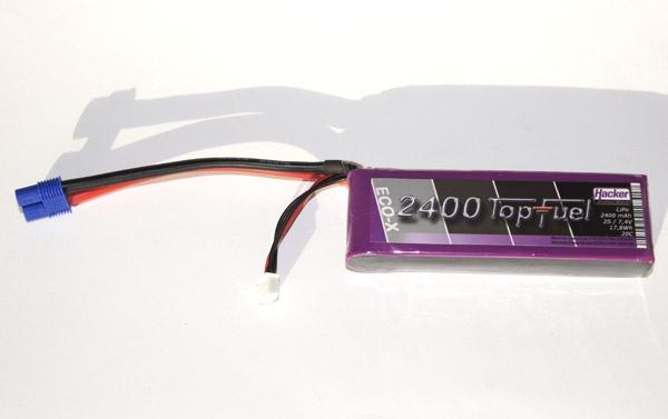TopFuel LiPo 20C-ECO-X 2400mAh 2S