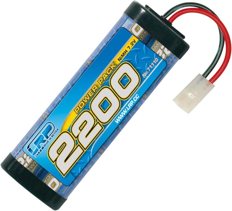 Power Pack 2200 - 7.2V - 6-ZellenNiMH Stickpack