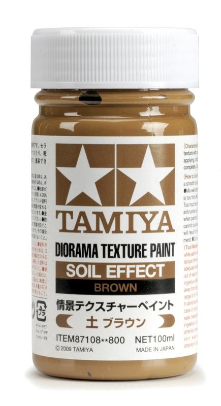 Texturfarbe Erde/Braun 100ml Diorama