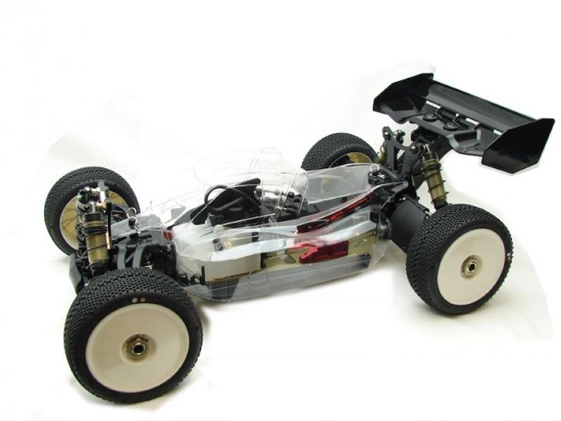 S350 BX1 Evo 4WD Pro Buggy 1/8 Nitro Bausatz