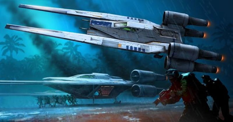 Star Wars Rebel U-Wing Fighter 1:100