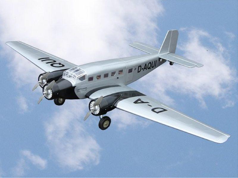 Junkers JU 52 Elektro Flugzeug 1630mm, ARF