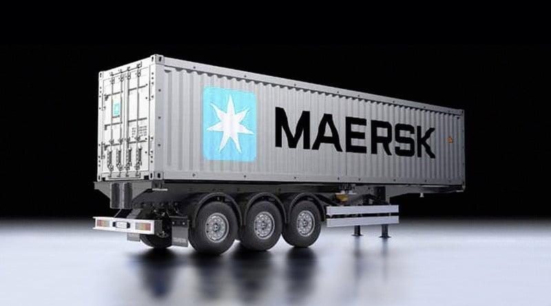 40-fuß Container-Auflieger Maersk RC Bausatz 1:14