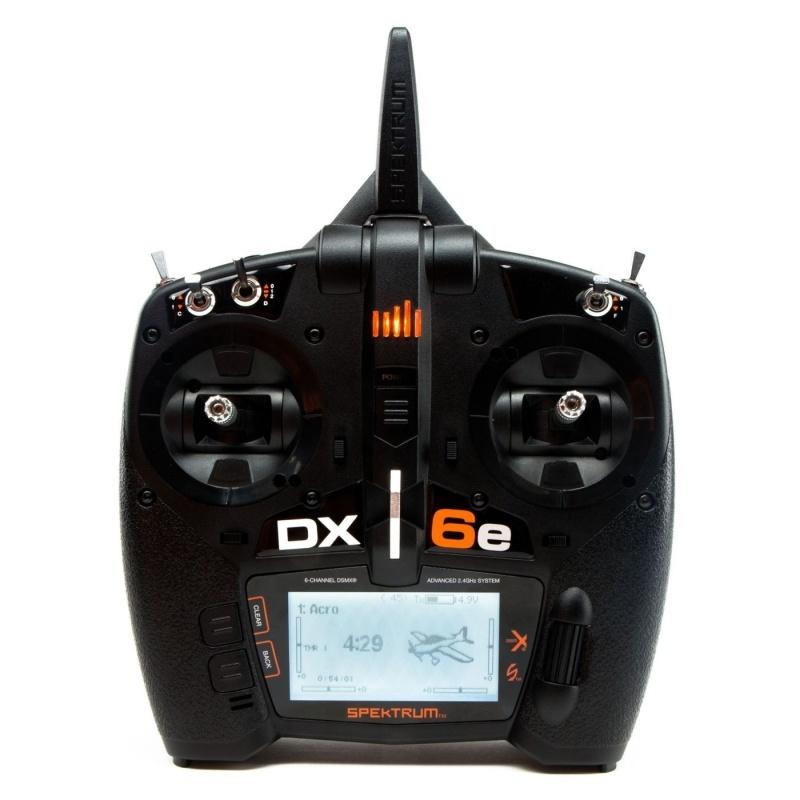 DX6e 6-Kanal Fernsteuerung 2,4GHz DSMX Einzelsender