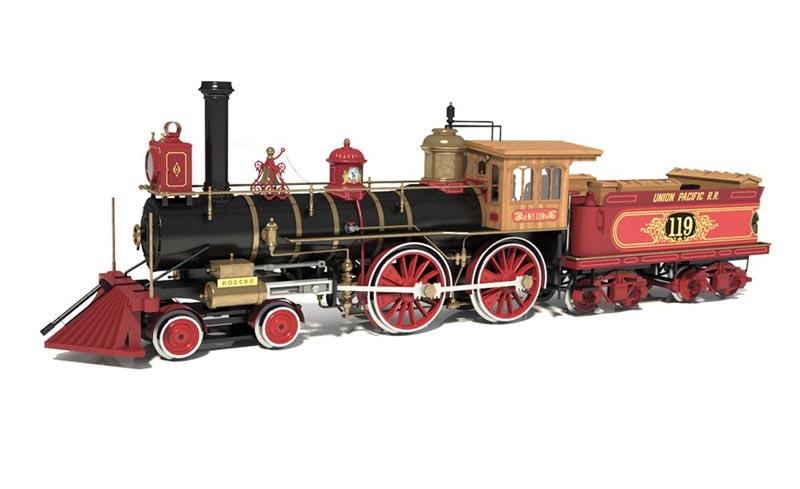 Rogers 119 1:32 Lokomotive Bausatz