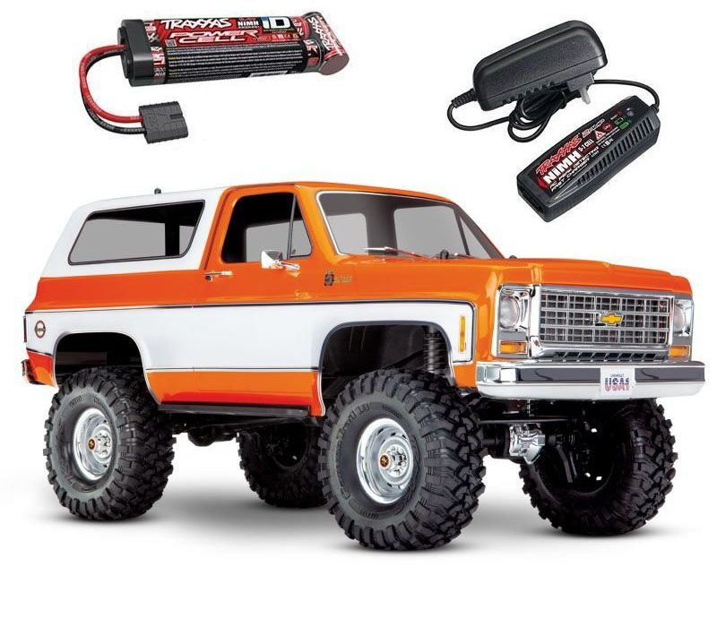 TRX-4 Blazer K5 4WD Scale & Trail Crawler 1/10 2,4GHz RTR