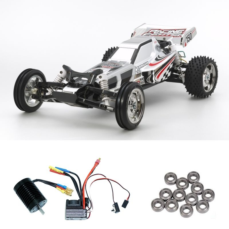 Racing Fighter Chrome (DT03) 1:10 2WD Buggy Brushless-Editon