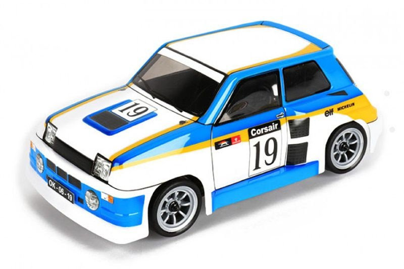 R5 Turbo Karosserie klar inkl. Dekor 1/10 für M-Chassis