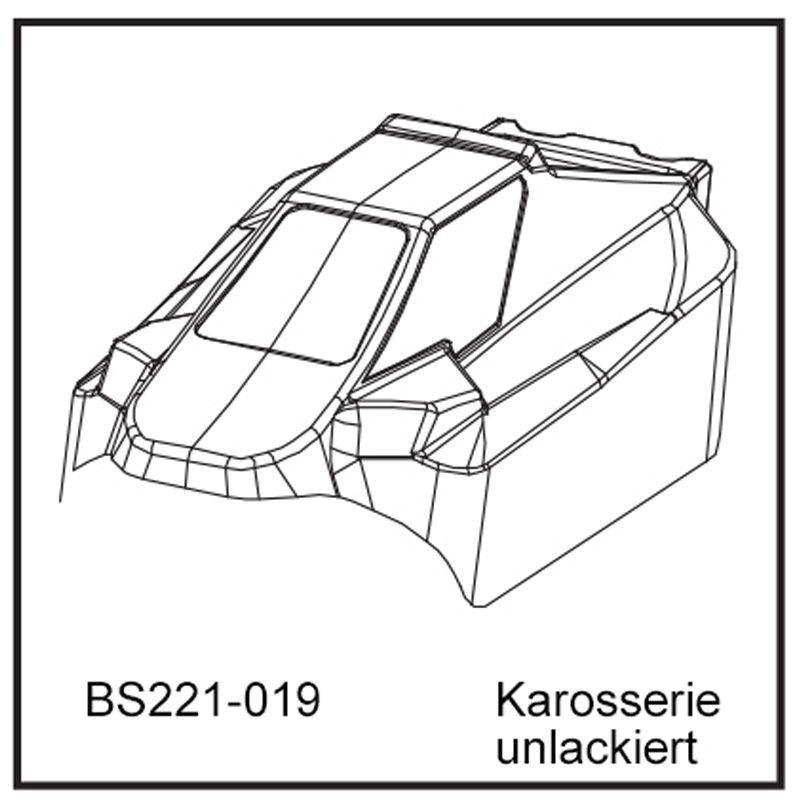 Karosserie - BEAST BX unlackiert