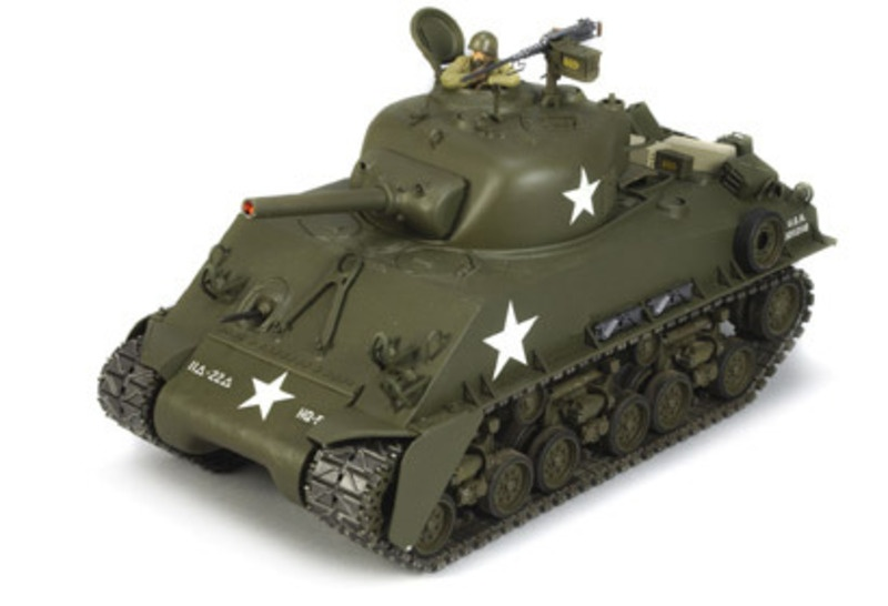 SHERMAN M4 1:16 Full Option Panzer Bausatz