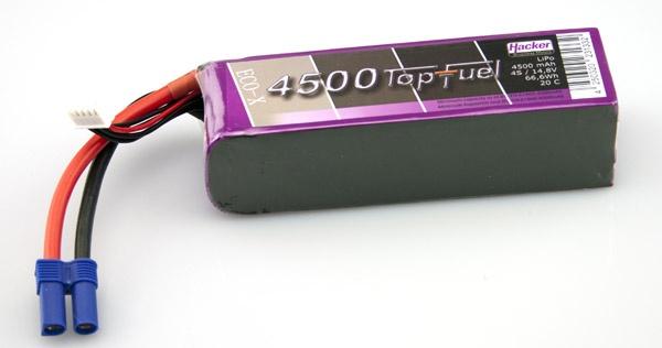 TopFuel LiPo 20C-ECO-X 4500mAh 4S