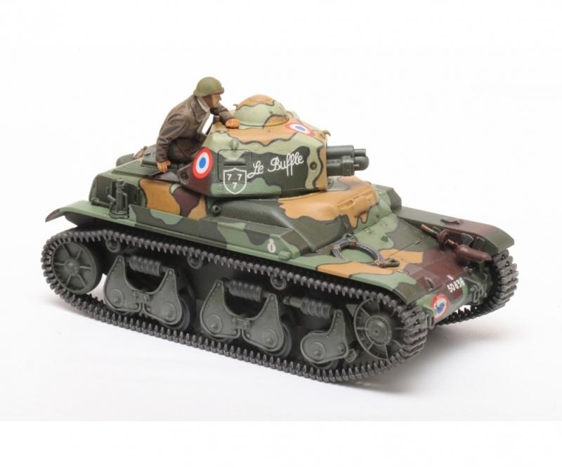 Französischer Panzer R35 1:35 Plastik Modellbausatz