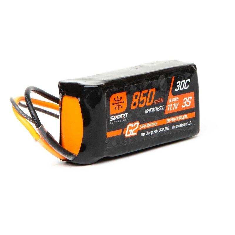 11.1V 850mAh 3S 30C Smart LiPo Akku G2: IC2