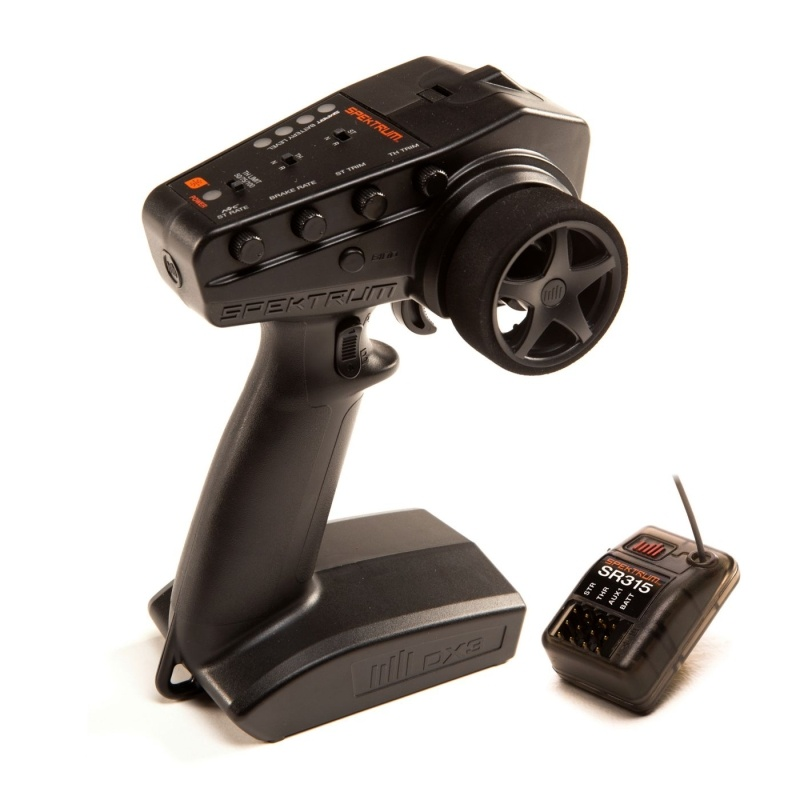 DX3 Smart 3-Kanal 2,4Ghz Fernsteuerung mit SR315 Empfänger