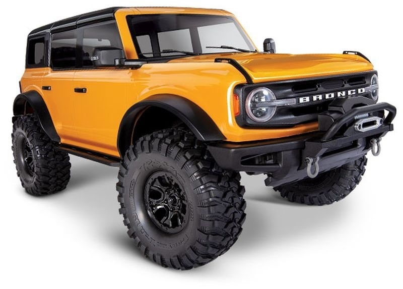 TRX-4 2021 Ford Bronco Crawler orange RTR 1:10