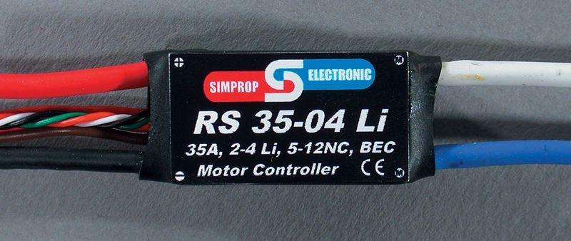 RS 35-04 LI Brushed Regler