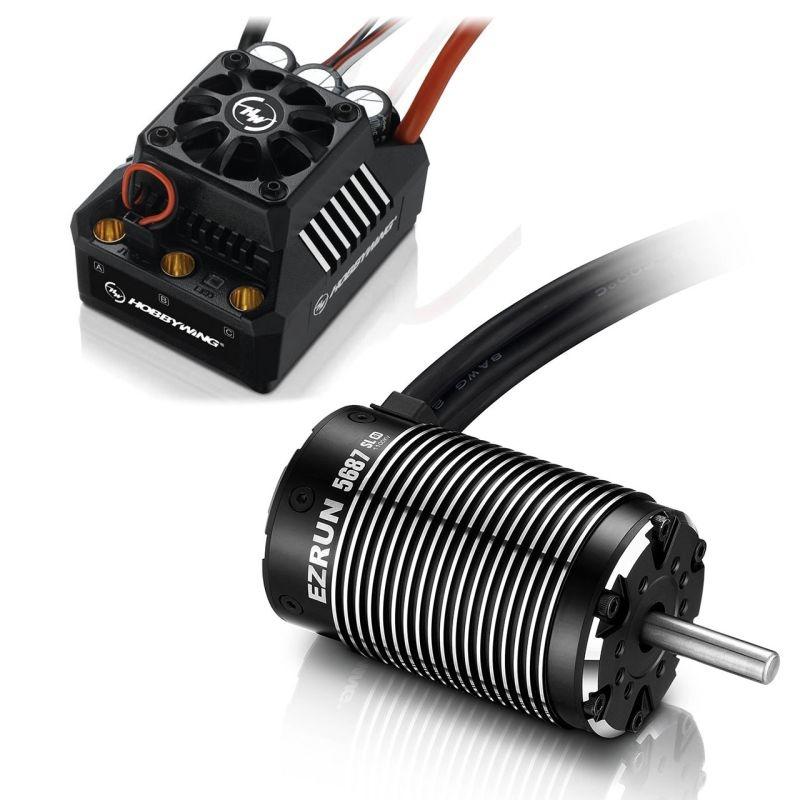 Ezrun MAX6 Brushless Combo SL 5687 1100kV Sensorless