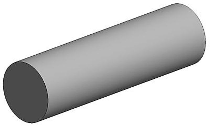 Rundstab, 0,88 x 350 mm (10)
