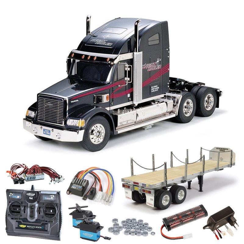 Truck Knight Hauler komplett inkl. Flachbett, LED,Kugellager