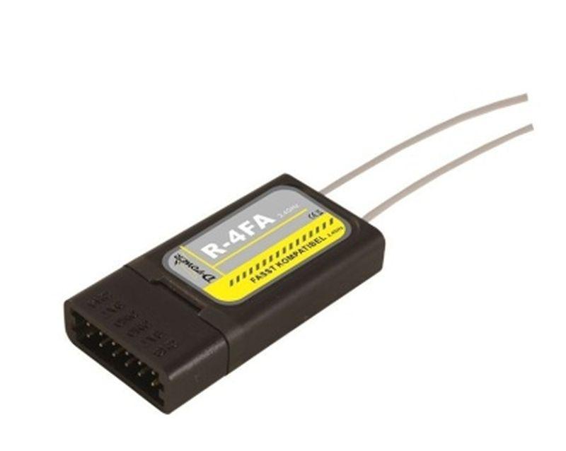 D-Power R- 4FA - 2.4 GHz Empfänger FASST kompatibel