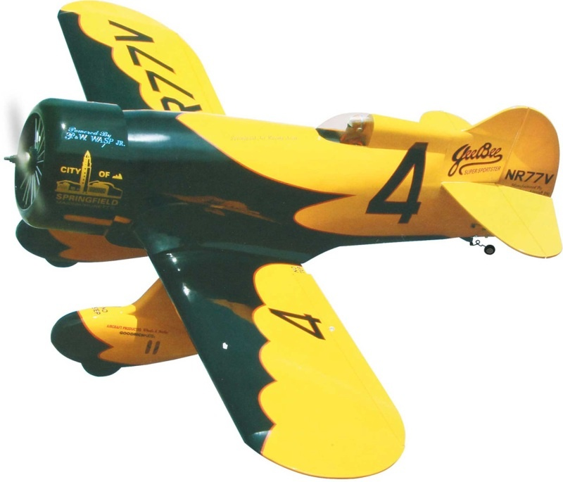 Geebee 120 ARF in Holzbauweise für Verbrennerantriebe