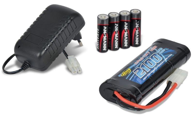 Starter Set Expert Lader Compact inkl. NiMH Akku + Batterien