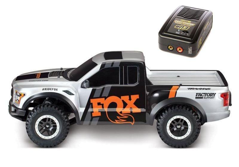 Ford F-150 Raptor 1:10 2WD Akku, Lader, Fox + Red Edition