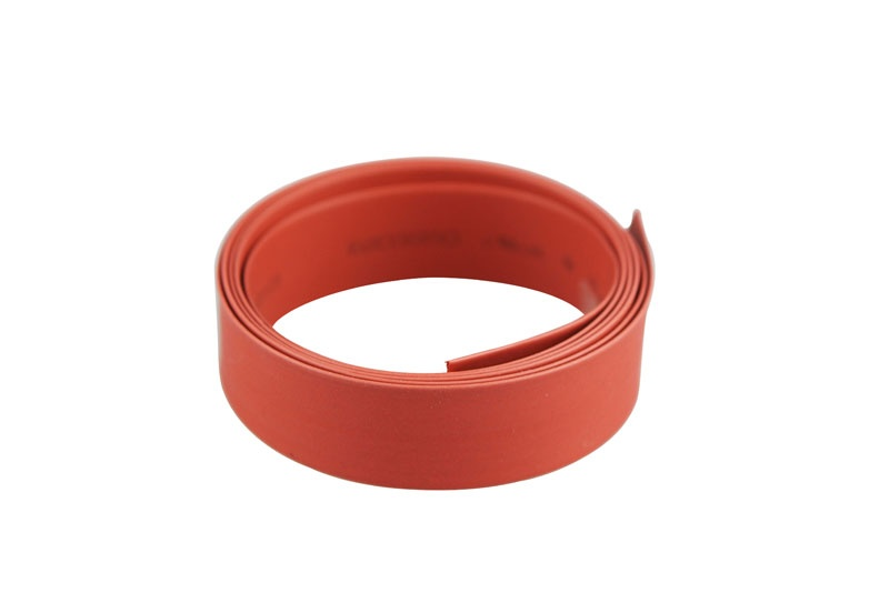 Schrumpfschlauch  Ø10mm x 1m  rot