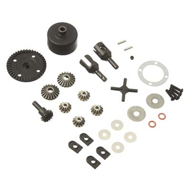 Gear Diff Set 43T Straight Cut