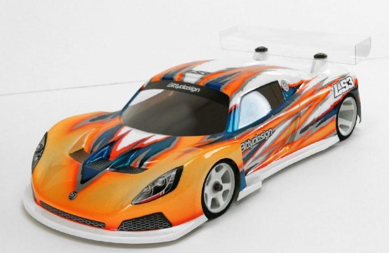 LS3 1/12 GT Lightweight Karosserie (klar)