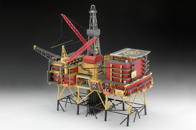 Off-Shore Oilrig North Cormorant
