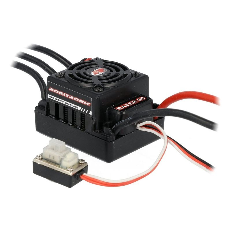 Razer 1/10 Brushless Regler 60A 2-3s by Hobbywing