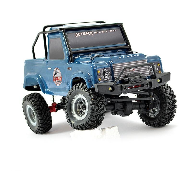 Outback Mini 2.0 Ranger 1:24 Crawler RTR dunkelblau