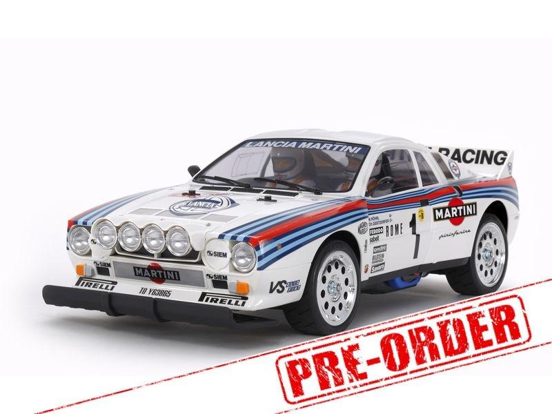 Lancia 037 Rally 1/10 Bausatz TA-02SW - Wiederauflage