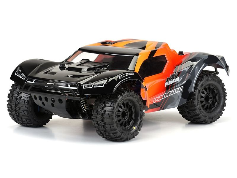 Monster Fusion Karosserie 1/10 (klar) für Slash 2WD + 4x4