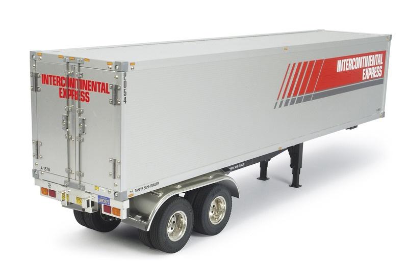 US Container 1/14 Auflieger Bausatz