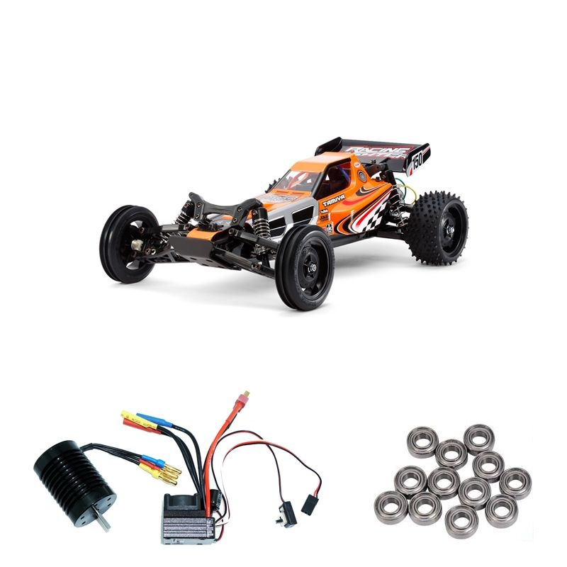 Racing Fighter 1:10 RC Buggy DT-03 Brushless Edition + Lager