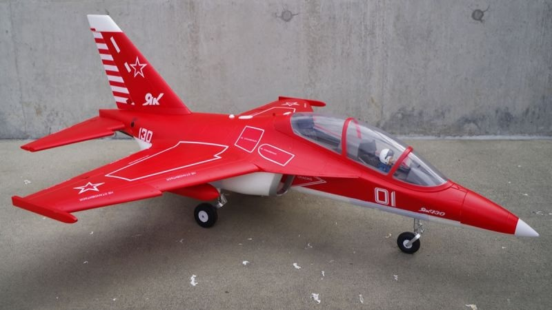 YAK 130 V2 Performance Jet EDF 70 880mm PNP
