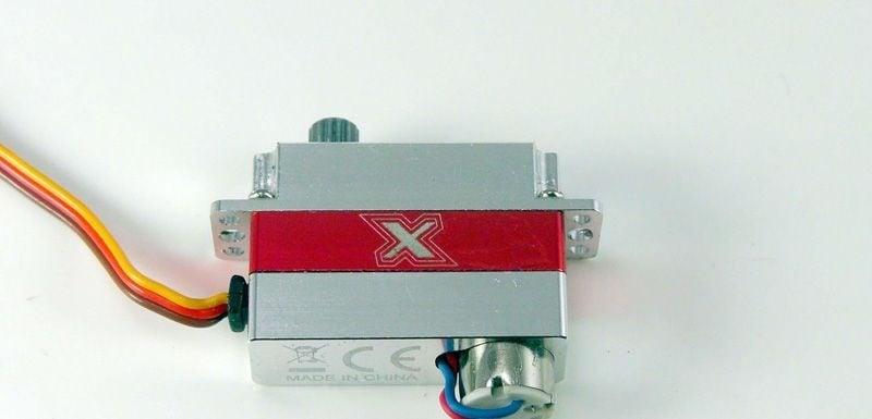 Microservo X08 V3, Voll-Aluminiumgehäuse