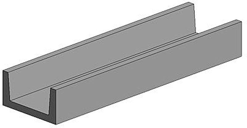 U-Profil, 4,8 x 350 mm (3)