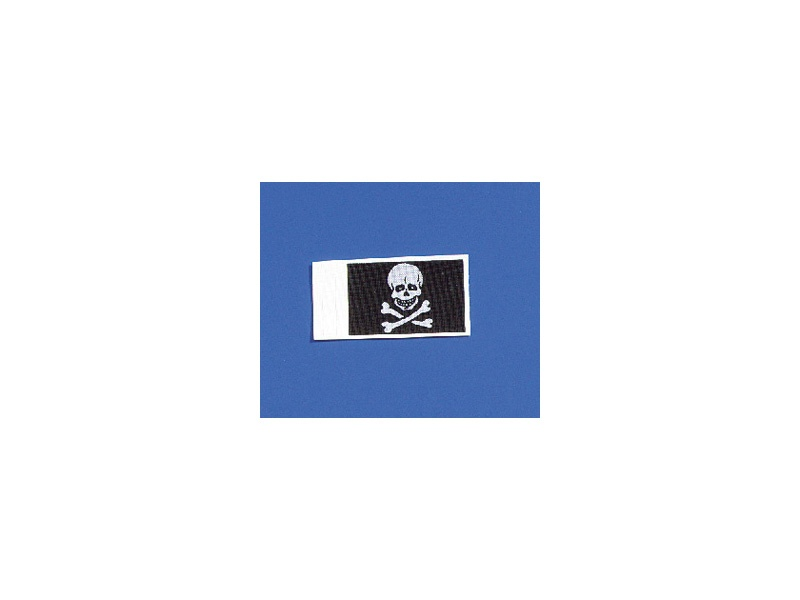 Flagge Totenkopf 20x30 mm (2 Stück)