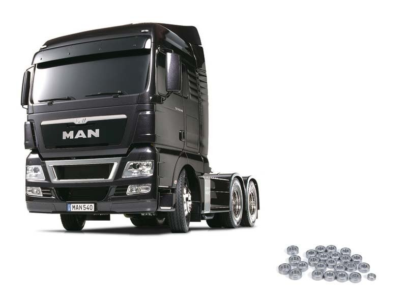 Truck MAN TGX 26.540 Gun Metal Edition + Kugellagerset