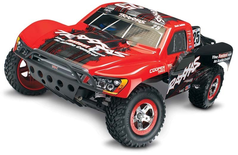 Slash RTR 1/10 2.4GHz Short Course Truck +12V-Lader, Akku