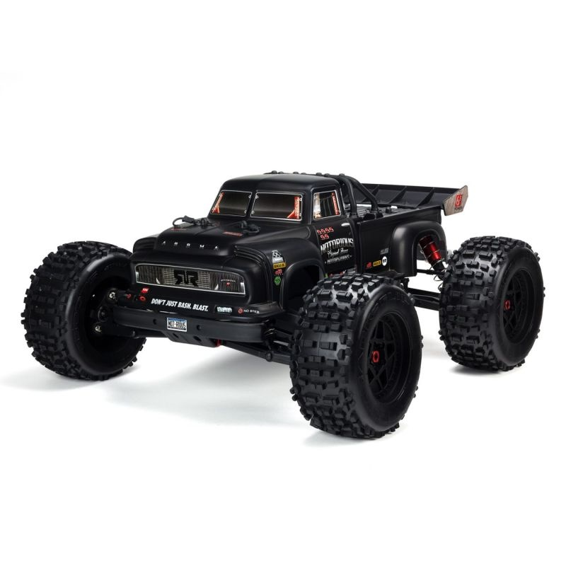 Notorious 4WD BLX Stunt Truck 1/8 6S Brushless RTR, schwarz